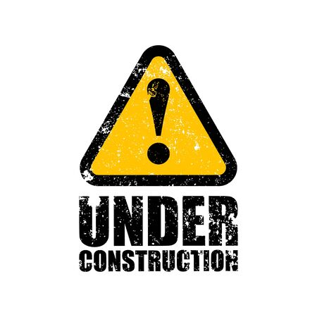 construct: under construction stamp