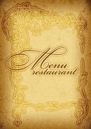 etiqueta: vintage menu
