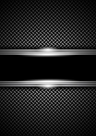 acier: fond avec une grille m�tallique