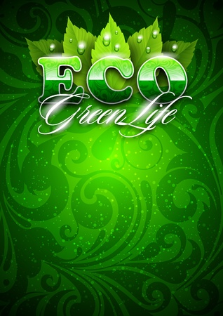 ecology, eco-friendly life Vector