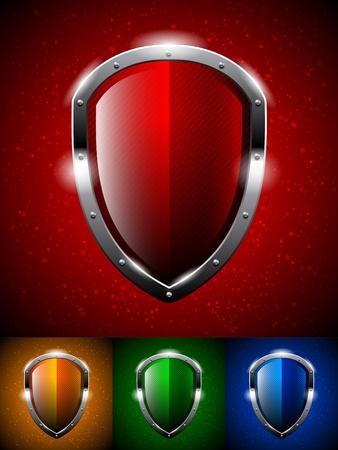 Shield logo