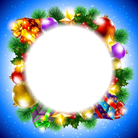 Christmas background Stock Vector - 15865723