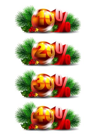 Christmas sale Stock Vector - 16137193