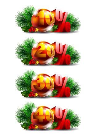 Christmas sale Stock Vector - 16137193