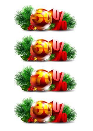 Christmas sale Stock Vector - 16137222