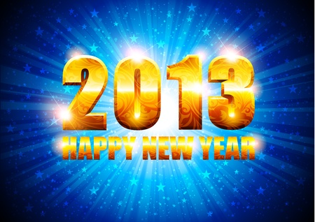 New Year background Stock Vector - 16137240