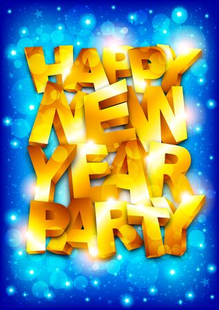 Happy new year party Stock Vector - 16857621