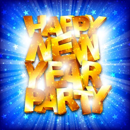 Happy new year party Stock Vector - 16857623