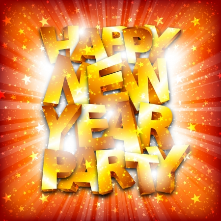 Happy new year party Stock Vector - 16857622