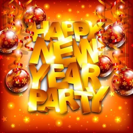 Happy new year party Stock Vector - 16857624