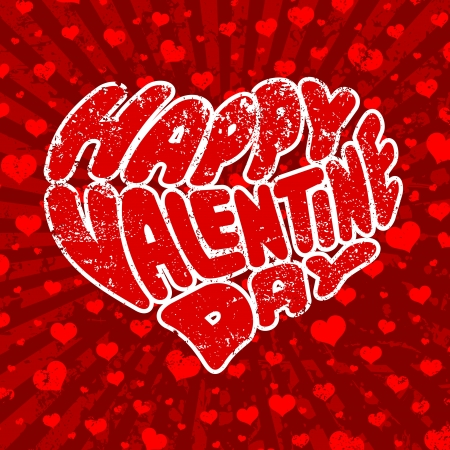 Happy Valentine s Day Stock Vector - 17477078