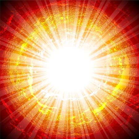 illumination: Fondo abstracto con iluminaci�n Vectores