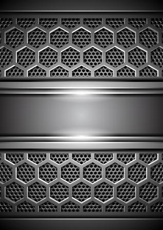 Metal background Stock Vector - 17687434