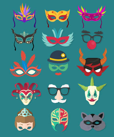 masquerade masks: masquerade masks collection in various colors styles