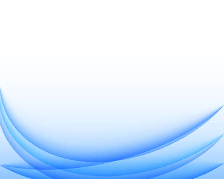 Abstract blue wavy business background. Vector eps 10.