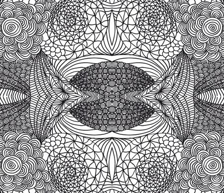 sketch: Hand getrokken abstracte achtergrond. Vector illustratie.