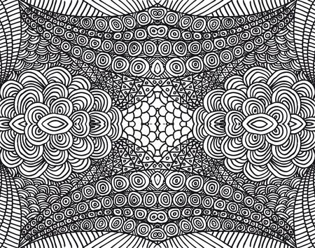 illustrators: Hand drawn abstract background. Vector illustration.