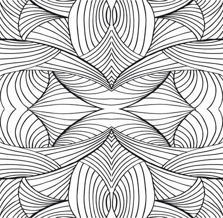 Getrokken abstracte achtergrond. Vector illustratie.