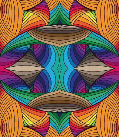 abstract art background: Hand drawn abstract background. Vector illustration.