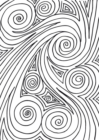 positives: Abstract design background   Illustration