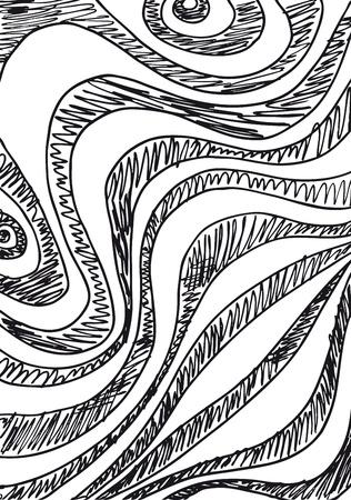 Disegno di sfondo astratto