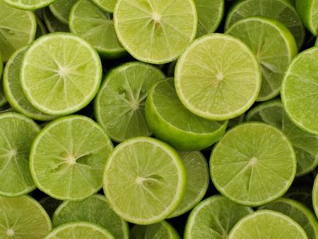 slices of lemon: fresh slices lemon Stock Photo
