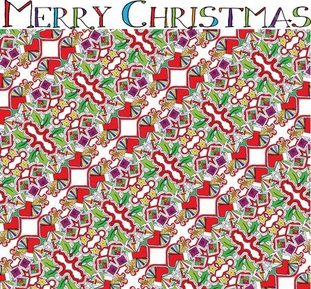 christmas illustration. Vector