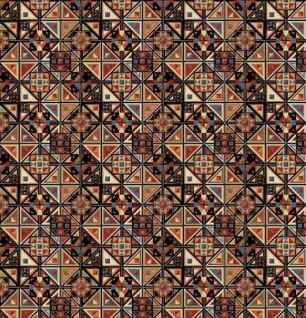 inca: Grunge inca pattern  Vector illustration