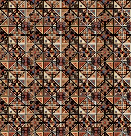 Grunge inca pattern  Vector illustration Vector