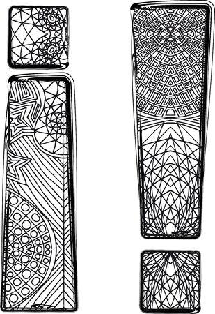 Fantasy font. Vector illustration Stock Vector - 14164885