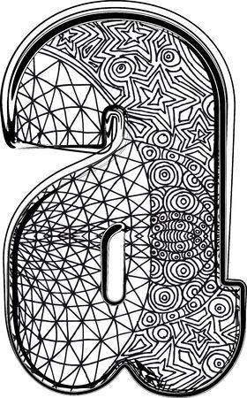 Fantasy font. Vector illustration Stock Vector - 14164879