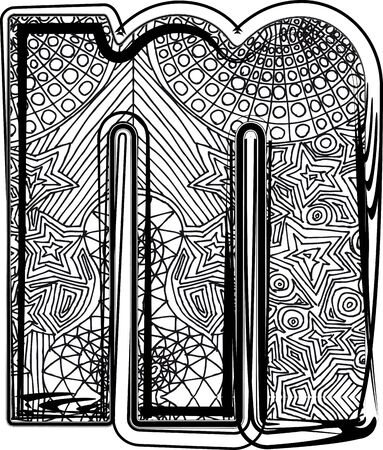 Fantasy font. Vector illustration Stock Vector - 14164842