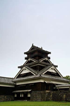 turret: Guard turret from Kumamoto castle, Japan. Editorial