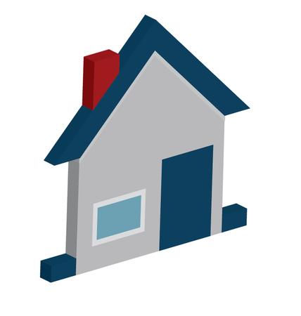 Home Vector Isometric editable icon