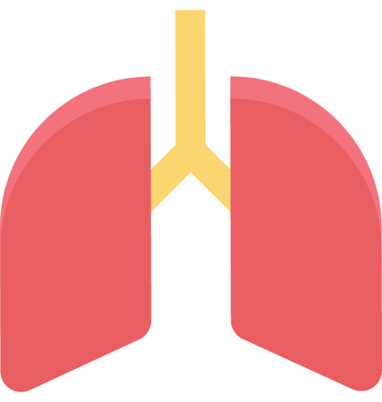 This is Lungs Color Vector Icon very useful for your health, fitness and medical related project, buy this vector and make more catchy Your Project
