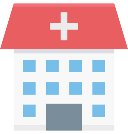 This is Hospital Color Vector Icon very useful for your health, fitness and medical related project, buy this vector and make more catchy Your Project Illustration