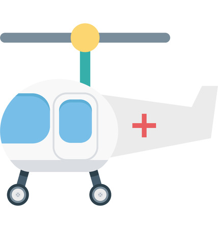 This is Air Ambulance Color Vector Icon very useful for your health, fitness and medical related project, buy this vector and make more catchy Your Project