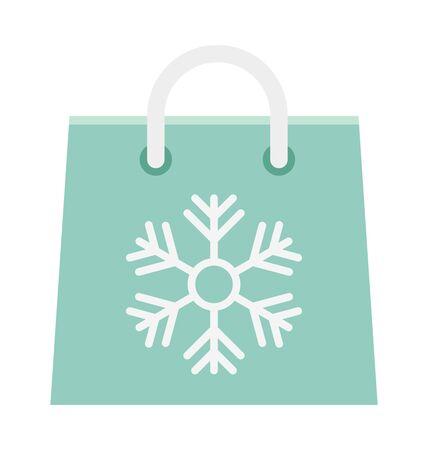 Shopping Bag Vector illustration Icon