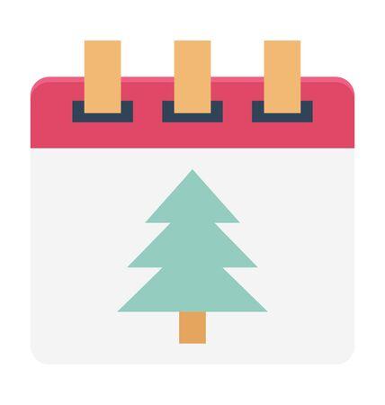 Calendar Vector Illustration Icon Illusztráció