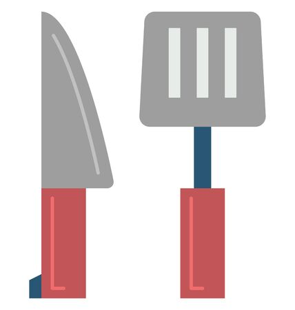 Cooking Tools Isolated Vector Icon which can easily modify or edit