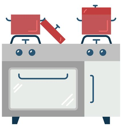 Cooking Range Isolated Vector Icon which can easily modify or edit