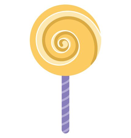 Lollipop Isolated Vector Icon which can easily modify or edit