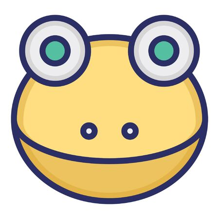 Frog  Isolated Vector Icon which can be easily modified or edited as you want