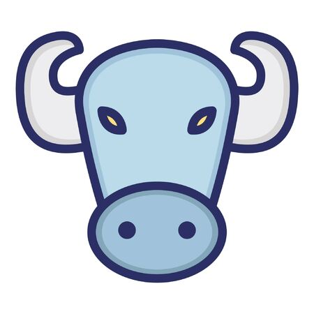 Bull  Isolated Vector Icon which can be easily modified or edited as you want