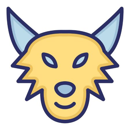 Fox  Isolated Vector Icon which can be easily modified or edited as you want