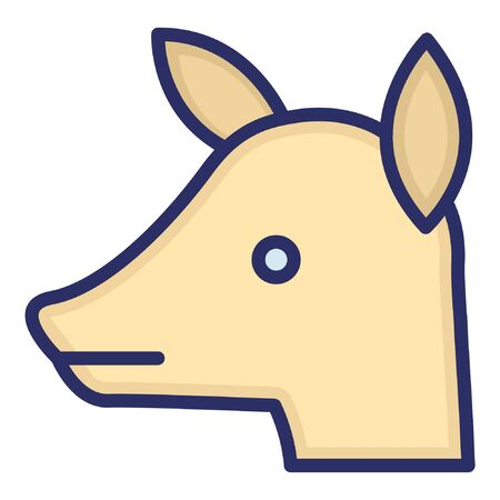Goat Kid  Isolated Vector Icon which can be easily modified or edited as you want