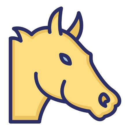 Horse  Isolated Vector Icon which can be easily modified or edited as you want