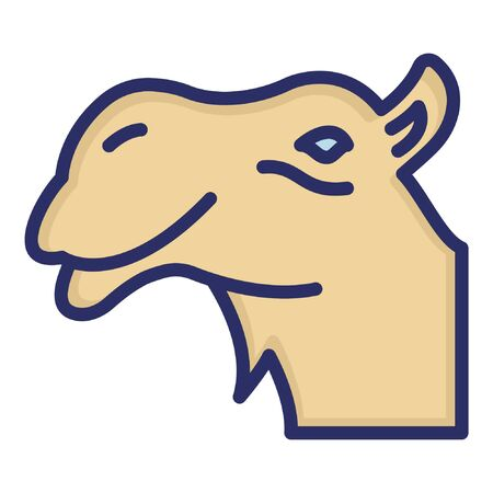 Camel  Isolated Vector Icon which can be easily modified or edited as you want