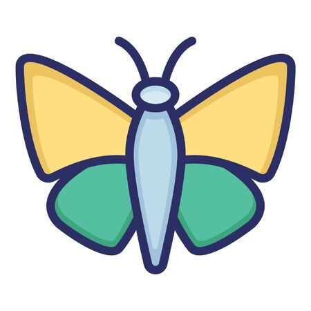 Butterfly  Isolated Vector Icon which can be easily modified or edited as you want Ilustração
