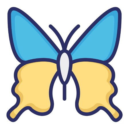 Butterfly  Isolated Vector Icon which can be easily modified or edited as you want Banque d'images - 130890039